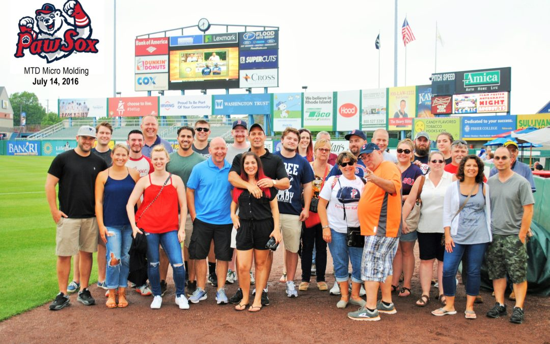MTD takes on the Pawtucket Red Sox