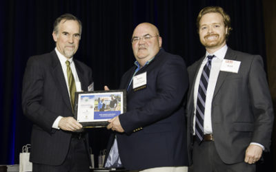 MTD Accepts Manufacturing Excellence Award